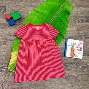 18-24 month old navy festive cotton sun dress
